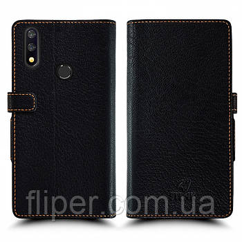 Чехол книжка Stenk Wallet для TP-LINK Neffos X20 Pro Чёрный