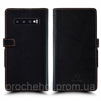 Чехол книжка Stenk Wallet для Samsung Galaxy S10 Чёрный