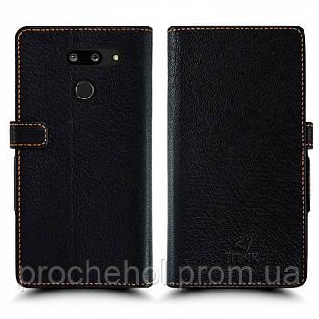 Чехол книжка Stenk Wallet для LG G8 ThinQ Чёрный