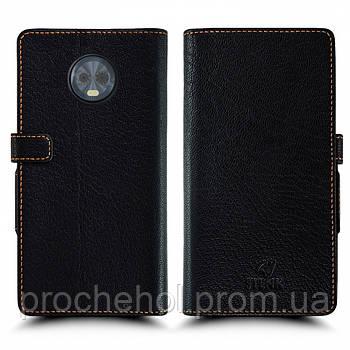 Чехол книжка Stenk Wallet для Motorola Moto G6 Plus Чёрный