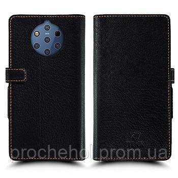 Чехол книжка Stenk Wallet для Nokia 9 PureView Чёрный