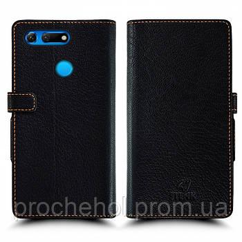 Чехол книжка Stenk Wallet для Huawei Honor View 20 Чёрный
