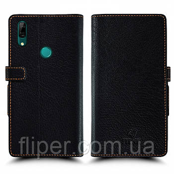 Чехол книжка Stenk Wallet для Huawei P Smart Z Чёрный