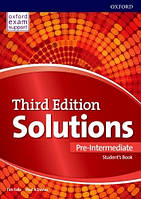 Solutions Pre-Intermediate 3rd edition (Third edition) Student's Book