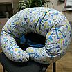 Подушка для беременных, 110x210 см, (хлопок), Жирафы, фото 2