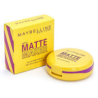 Пудра для лица двойная Maybelline Matte Maker