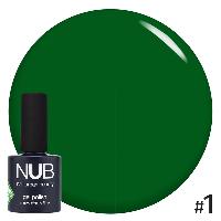 Гель-лак Glass Gel №1 зеленый 11,8мл NUB