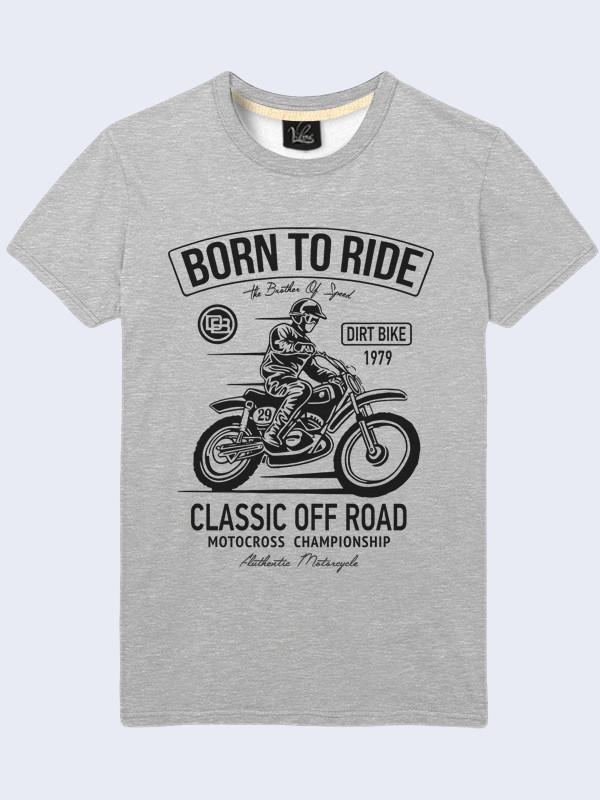 Футболка Born to ride