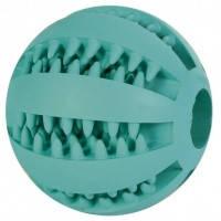 Тrixie Denta Fun Mintfresh Baseball Natural Rubber мяч бейсбольный с мятным вкусом, 5см