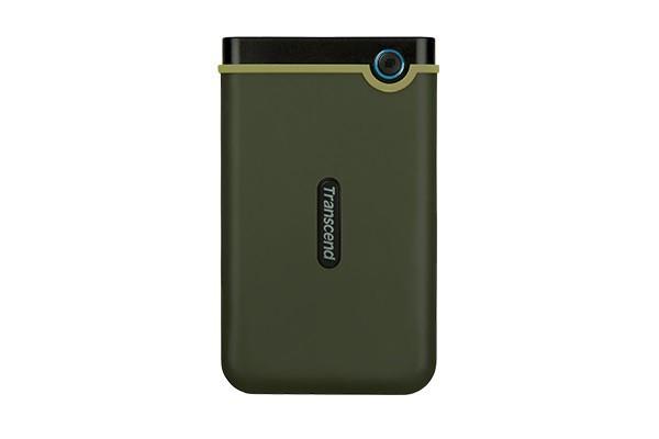 "Накопитель внешний HDD 2.5"" USB 2.0TB Transcend StoreJet 25M3 Military Green Slim (TS2TSJ25M3G)"