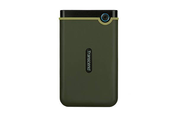 "Накопитель внешний HDD 2.5"" USB 2.0TB Transcend StoreJet 25M3 Military Green Slim (TS2TSJ25M3G), фото 2"