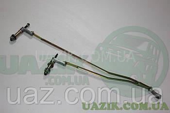 Трапеція склоочисника УАЗ 469 ст. обр., тяга (верхнє розташування)
