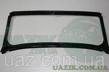 Рамка вітрового скла під дах УАЗ 3151, HUNTER (БЕЗ скла)