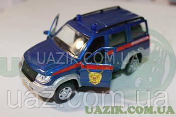 """Модель УАЗ 1/43 PATRIOT """"AUTOTIME"""" Прокуратура"""