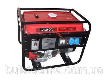 """Генератор бензиновый Samson S 6.0 (6,0 кВт - 6,5кВт) завод изготовитель """"WEIMA"""""""