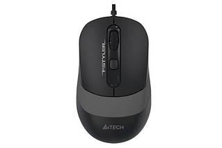 Миша A4Tech FM10 Black/Grey USB