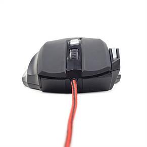 Мышь Gembird MUSG-02 Black USB, фото 2
