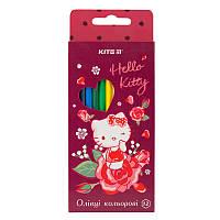 Карандаши цветные Hello Kitty, 12 цветов