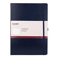 Книга записная Partner Grand, 295*210, 100л, кл, синяя