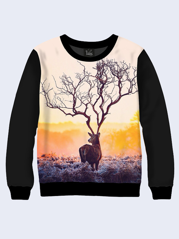 Свитшот Необыкновенный олень