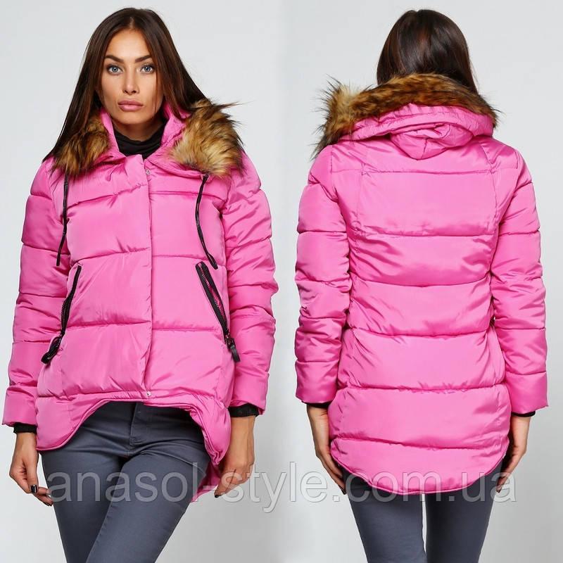 Куртка пуховик зимова жіноча