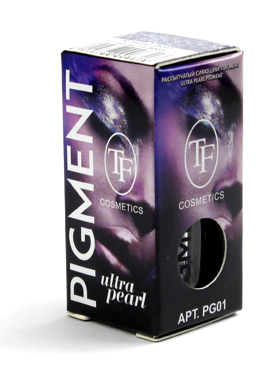Рассыпчатый сияющий пигмент TF Ultra Pearl Pigment (PG01)