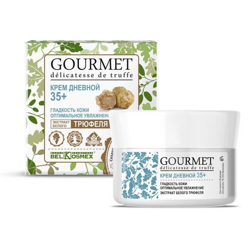Крем дневной от 35 гладкость кожи оптимальное увлажнение экстракт белого трюфеля GOURMET BelKosmex 48г. арт.8703