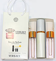 Versace Bright Crystal edt 3x15ml - Trio Bag