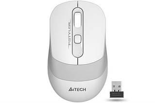 Миша бездротова A4Tech FG10 White USB