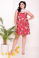 Платье больших размеров Modus Бриз Donna 7353