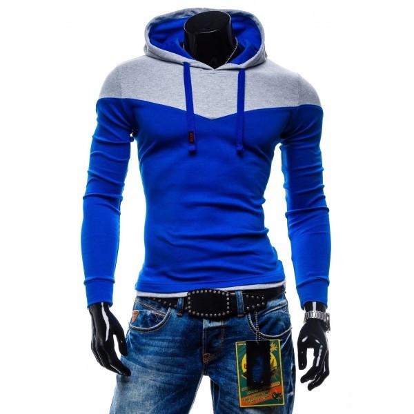 Стильная мужская кофта с капюшоном, худи
