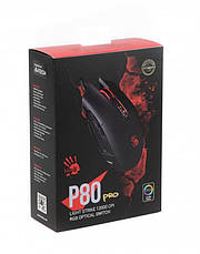 Мышь A4Tech P80 Pro Bloody Activated Black USB, фото 3