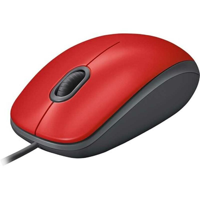 Мышь Logitech M110 Silent (910-005489) Red USB