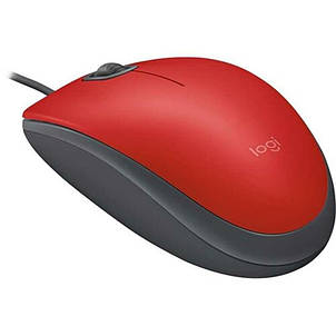 Мышь Logitech M110 Silent (910-005489) Red USB, фото 2