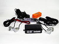 Парктроник Noisy P-384 на 4 датчика Серый (hub_3sm_76445686)