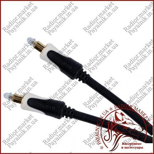 Кабель оптический звуковой 2.0м Cabletech Basic Edition optical cable в экране Польша (KPO3845-2)