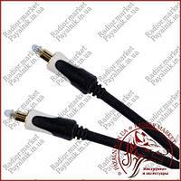 Кабель оптический звуковой 3.0м Cabletech Basic Edition optical cable в экране Польша (KPO3845-3)