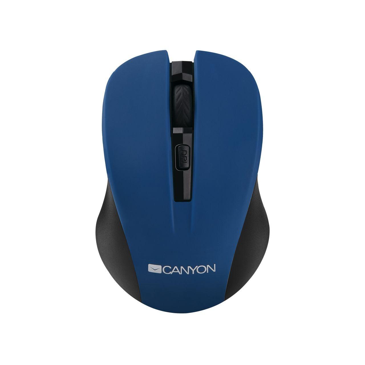 Мышь беспроводная Canyon CNE-CMSW1BL Blue USB