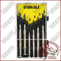 Набор часовых отверток SIGMA  6 штук (4003051)