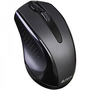 Мышь беспроводная A4Tech G9-500FS Black USB V-Track, фото 2