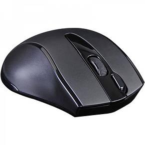Мышь беспроводная A4Tech G9-500FS Black USB V-Track, фото 3