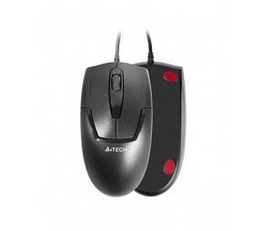Миша A4Tech OP-540NU Black USB V-Track, фото 2