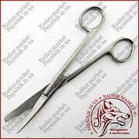 Ножницы операционные изогнутые с одним острым концом 170мм