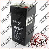Акумулятор свинцево-кислотний Casіl 4v 4.5 a (CA445)