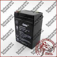 Акумулятор свинцево-кислотний Casіl 6v 4.5 a (CA645)