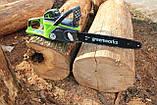 Аккумуляторная цепная пила GreenWorks G-MAX 40V 16-inch DigiPro GD40CS40 (20312) с аккумулятором  6 А.ч., фото 2