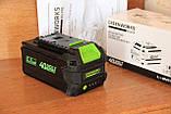 Аккумуляторная цепная пила GreenWorks G-MAX 40V 16-inch DigiPro GD40CS40 (20312) с аккумулятором  6 А.ч., фото 5