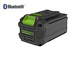 Аккумуляторная цепная пила GreenWorks G-MAX 40V 16-inch DigiPro GD40CS40 (20312) с аккумулятором  6 А.ч., фото 4