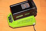 Аккумуляторная цепная пила GreenWorks G-MAX 40V 16-inch DigiPro GD40CS40 (20312) с аккумулятором  6 А.ч., фото 9