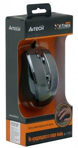 Мышь A4Tech N-770FX-1 черная USB V-Track, фото 3